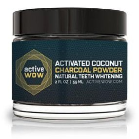 activated coconut charcoal powder